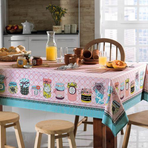 Toalha de Mesa Karsten Antiformiga Jelly Ambientada