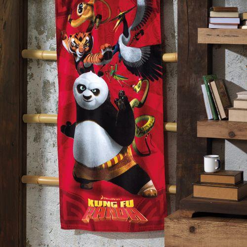 Toalha de Banho Infantil Dohler Kung Fu Panda