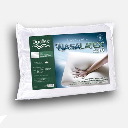Travesseiro Duoflex Nasalátex Alto NL1100