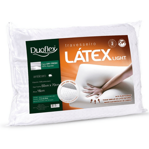 Travesseiro Duoflex Látex Light LP1101