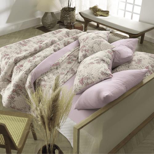 Jogo-de-Lencol-Casal-Queen-Altenburg-In-Cotton-Starsflowers-Ambientada