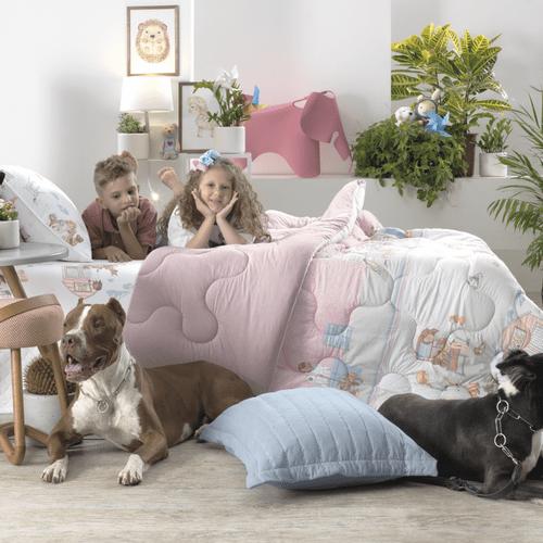 Edredom-Infantil-Altenburg-Mundo-Kids-Pet-Love-Ambientada