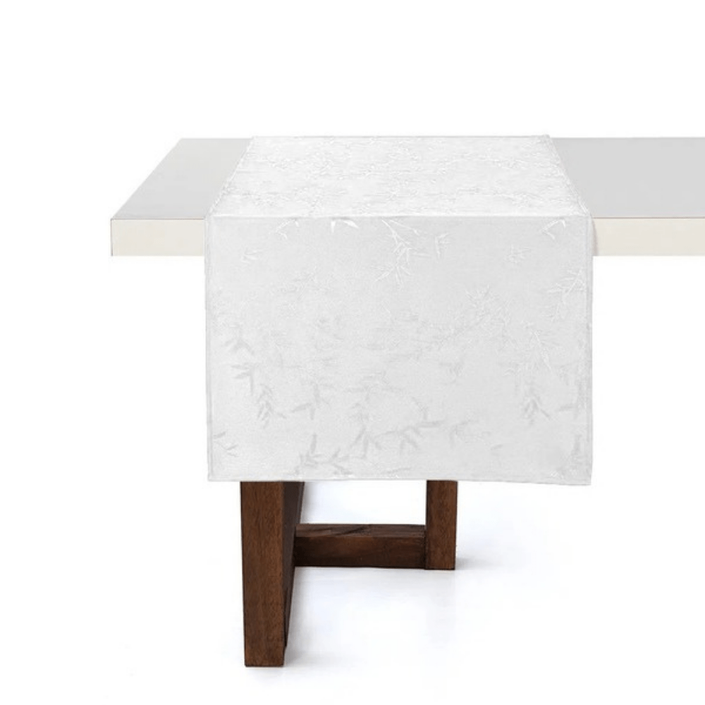 Trilho de Mesa 0,50 x 1,60 Karsten Celebration Veríssimo Branco