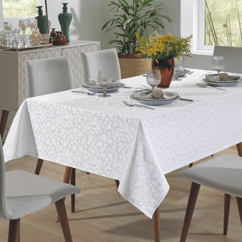 Toalha-de-Mesa-160-x-160-Dohler-Requinte-Flores-Branca-5040-Ambientada